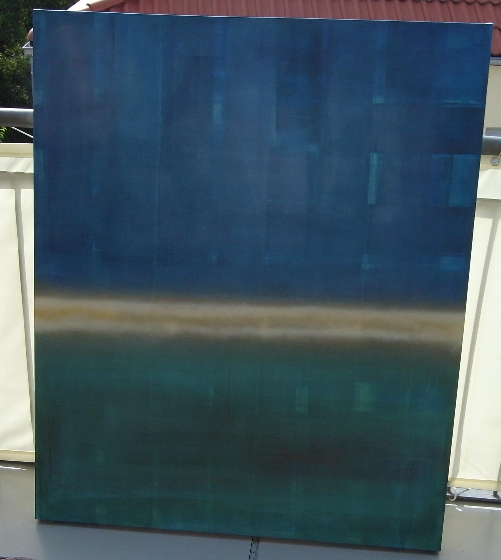 ruhe im chaos. 100x120. acryl. verkauft.