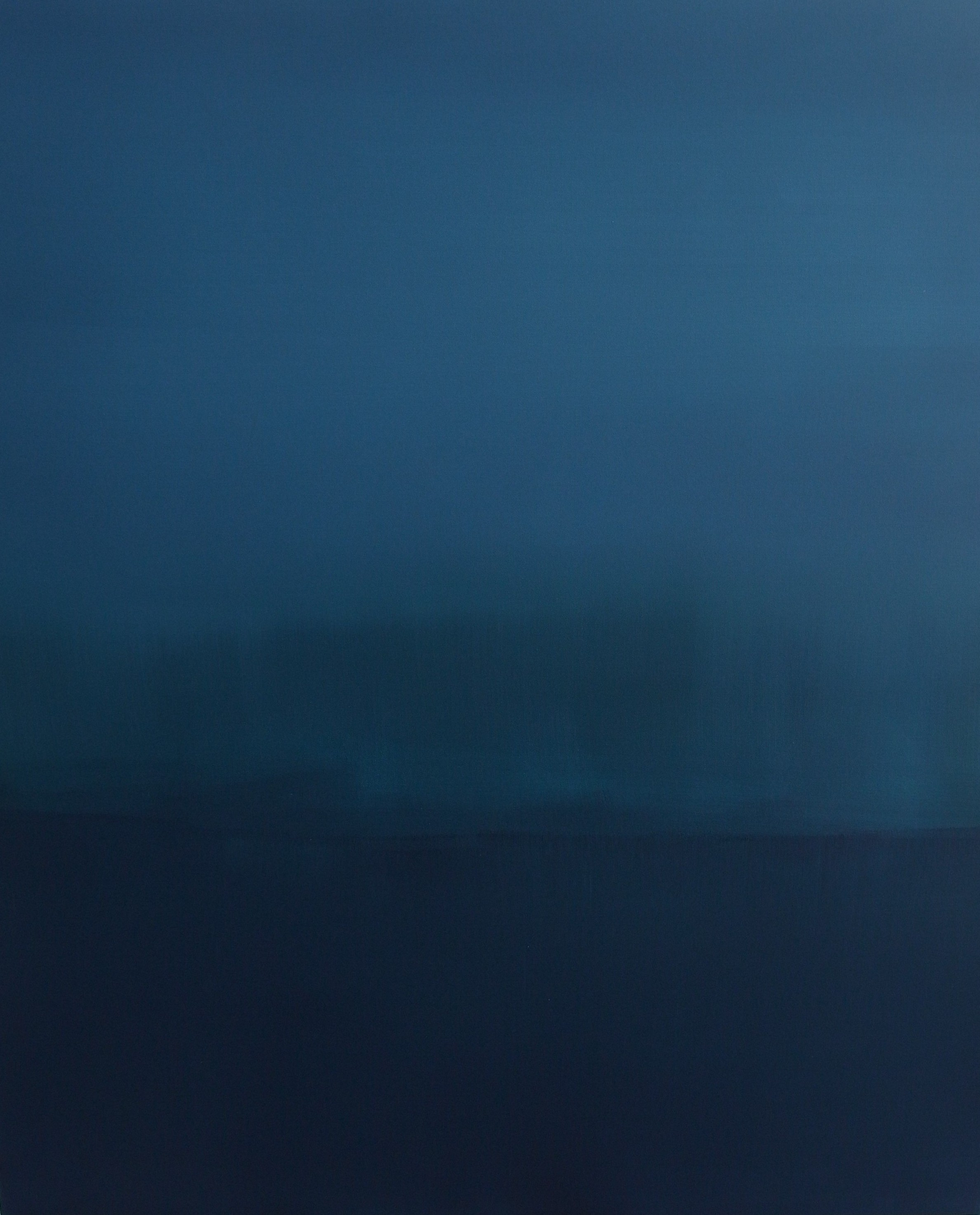 ruhiger ozean. 100x120. acrylic.